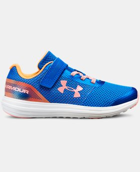 Girls' Pre-School UA Surge RN Prism  1  Color Available $65