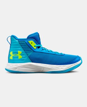 Girls' Grade School UA Jet 2018 Basketball Shoes 2 Colors Available $52.5