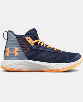 New Arrival Girls' Grade School UA Jet 2018 Basketball Shoes  2  Colors Available $55