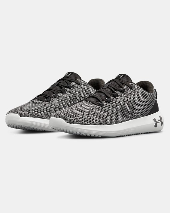 Chaussures UA Ripple pour homme, Black, pdpMainDesktop image number 3