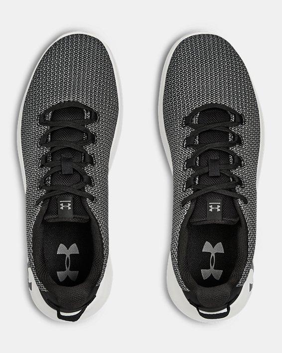Chaussures UA Ripple pour homme, Black, pdpMainDesktop image number 2