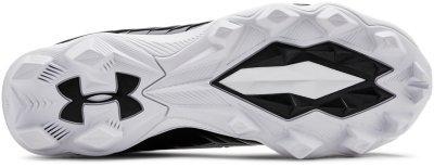 Under Armour Boys Highlight RM Jr 800 //White Orange Football Shoe