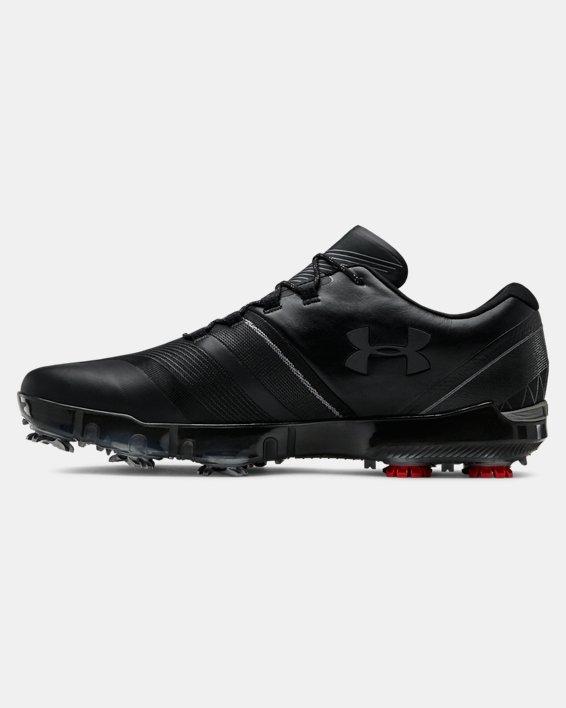 Men's UA Spieth 3 Golf Shoes, Black, pdpMainDesktop image number 1