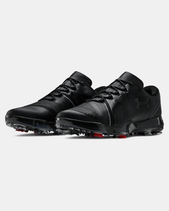 Men's UA Spieth 3 Golf Shoes, Black, pdpMainDesktop image number 4