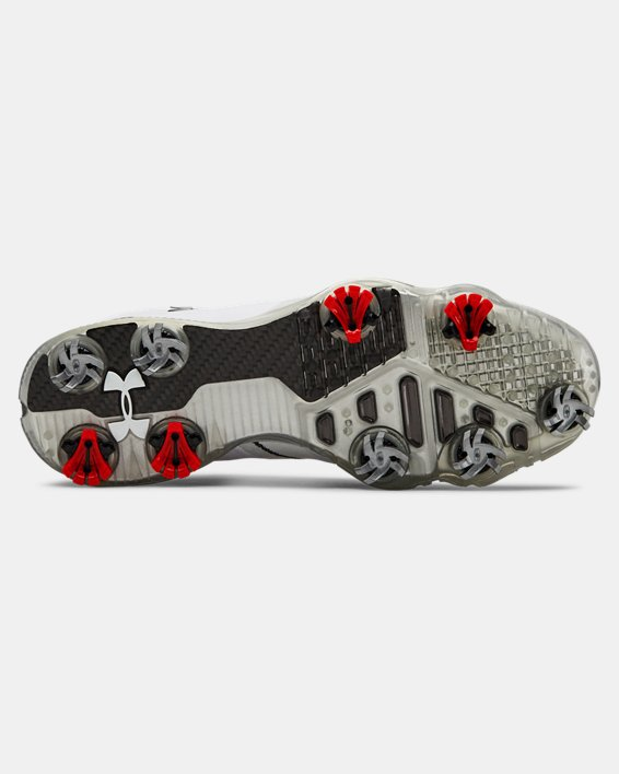 Men's UA Spieth 3 Golf Shoes, White, pdpMainDesktop image number 2