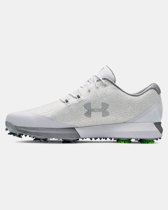 Men's UA HOVR™ Drive Woven Golf Shoes, White, pdpMainDesktop image number 2