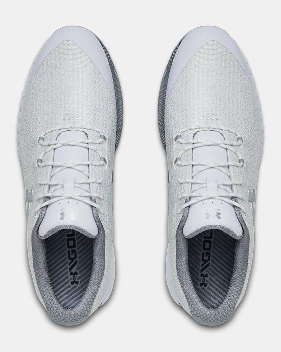 Men's UA HOVR™ Drive Woven Golf Shoes, White, pdpMainDesktop image number 4