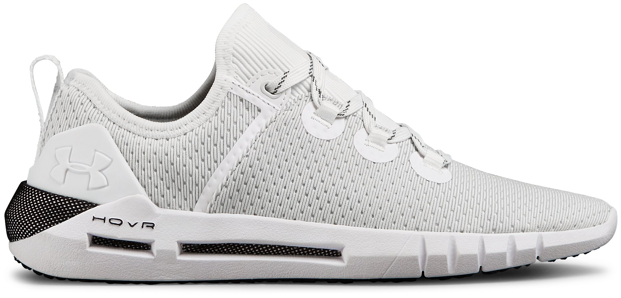 Women's UA HOVR™ SLK Shoes, White, zoomed