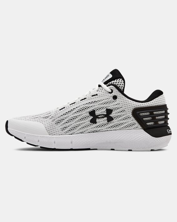 Men's UA Charged Rogue Running Shoes, White, pdpMainDesktop image number 1
