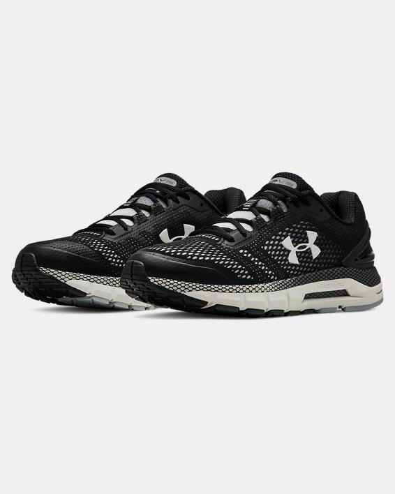 Men's UA HOVR™ Guardian Running Shoes, Black, pdpMainDesktop image number 4