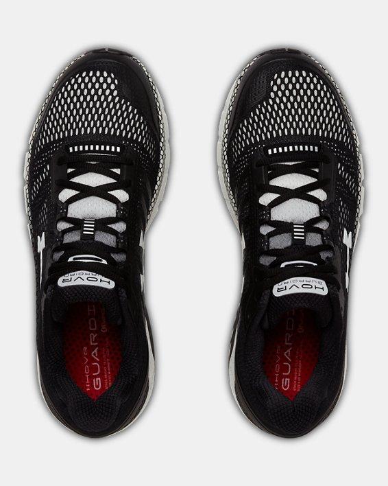 Men's UA HOVR™ Guardian Running Shoes, Black, pdpMainDesktop image number 3