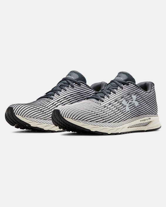 Men's UA HOVR™ Velociti 2 Running Shoes, Gray, pdpMainDesktop image number 3