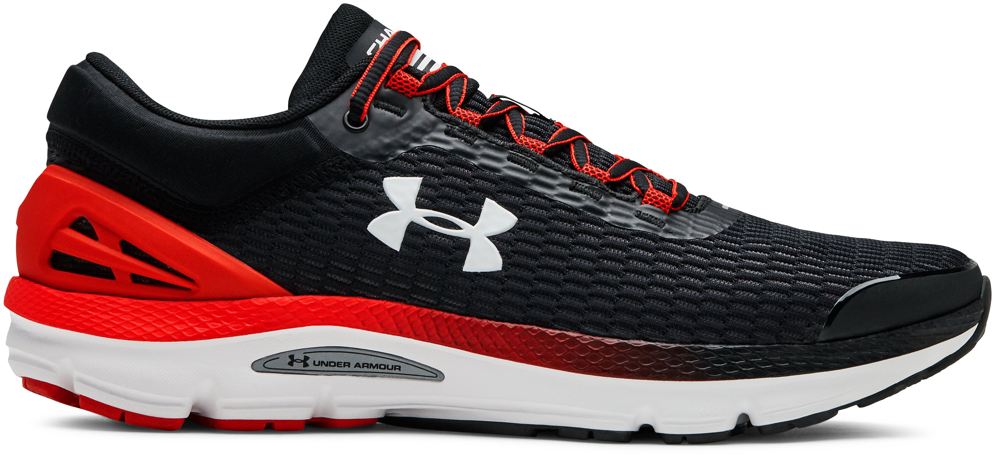 Men's UA Charged Intake 3 Running Shoes, 360 degree view