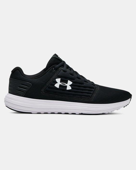 Men's UA Surge SE Running Shoes, Black, pdpMainDesktop image number 0