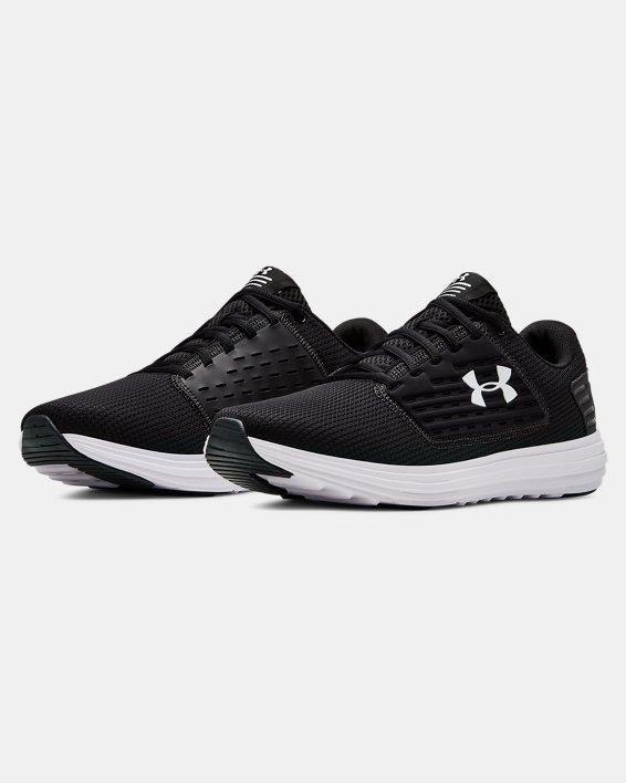 Men's UA Surge SE Running Shoes, Black, pdpMainDesktop image number 4