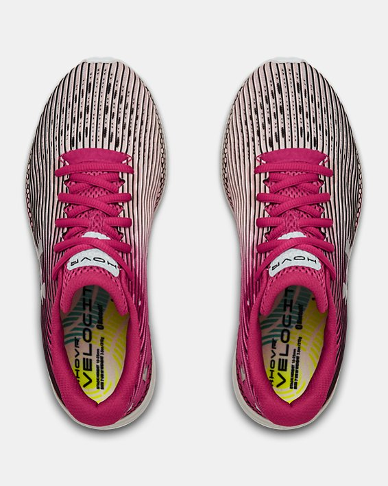 Women's UA HOVR™ Velociti 2 Running Shoes, Pink, pdpMainDesktop image number 3
