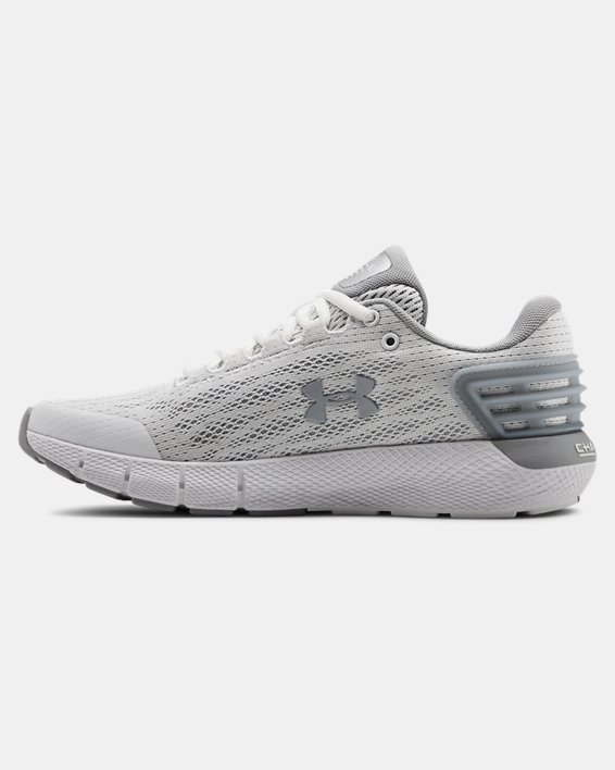 Women's UA Charged Rogue Running Shoes, White, pdpMainDesktop image number 1