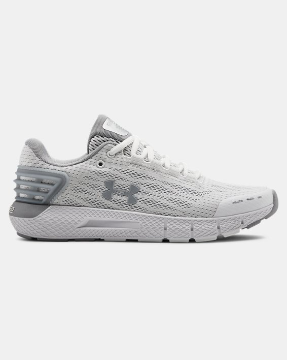 Women's UA Charged Rogue Running Shoes, White, pdpMainDesktop image number 0