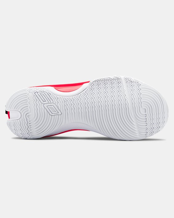 Adult UA Curry 7 Basketball Shoes, White, pdpMainDesktop image number 2