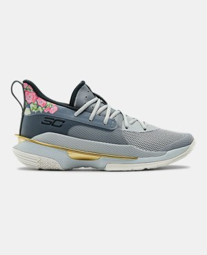 Men's Gray Basketball Athletic Shoes Under Armour US  Under Armour US