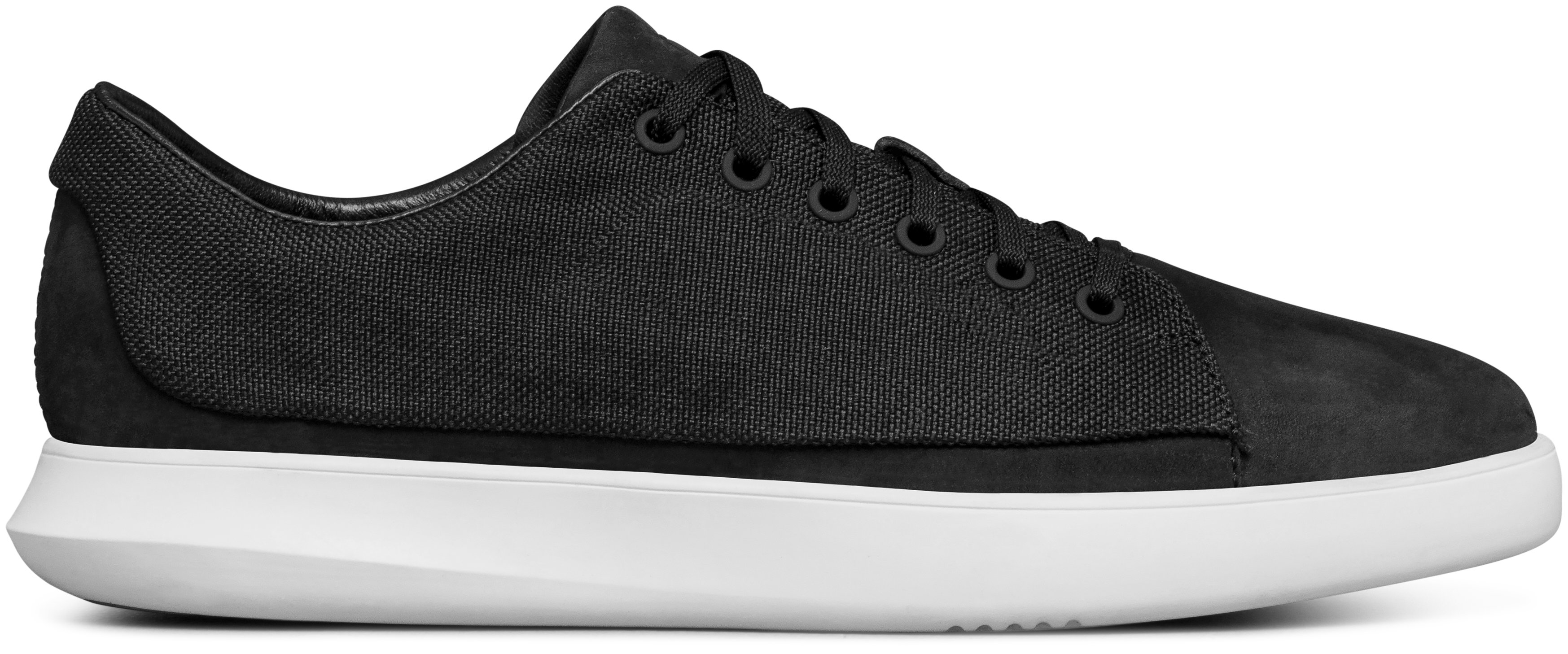 Men's UAS Club Low Canvas Shoes, Black ,