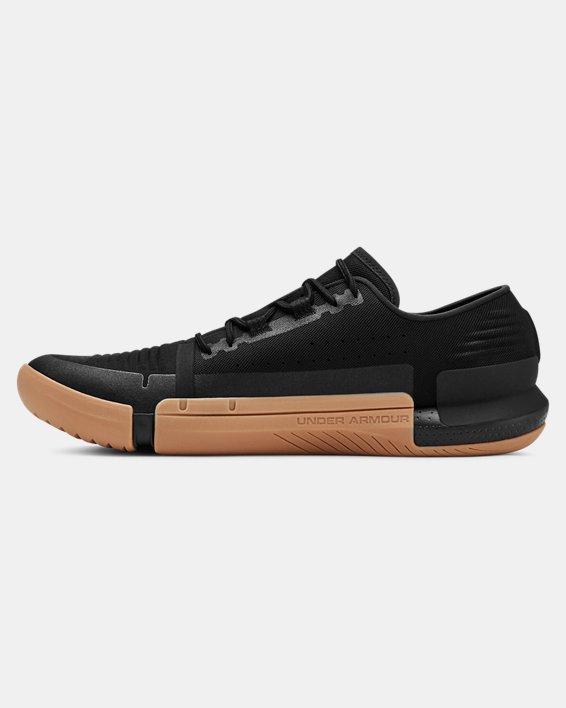 Chaussures d'entraînement UA TriBase™ Reign pour homme, Black, pdpMainDesktop image number 1