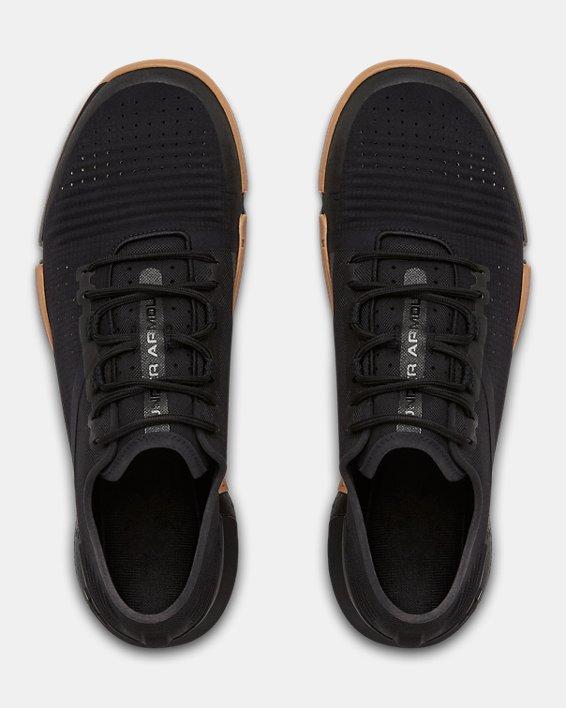 Chaussures d'entraînement UA TriBase™ Reign pour homme, Black, pdpMainDesktop image number 3