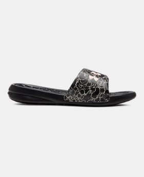 663534db35b2 Women s UA Playmaker Express Slides 1 Color Available  39.99