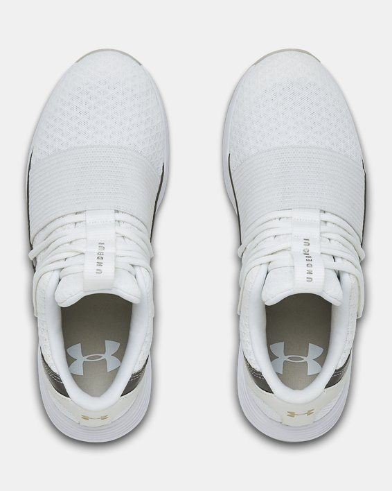Chaussures UA Breathe Lace x NM Sportstyle pour femme, White, pdpMainDesktop image number 3