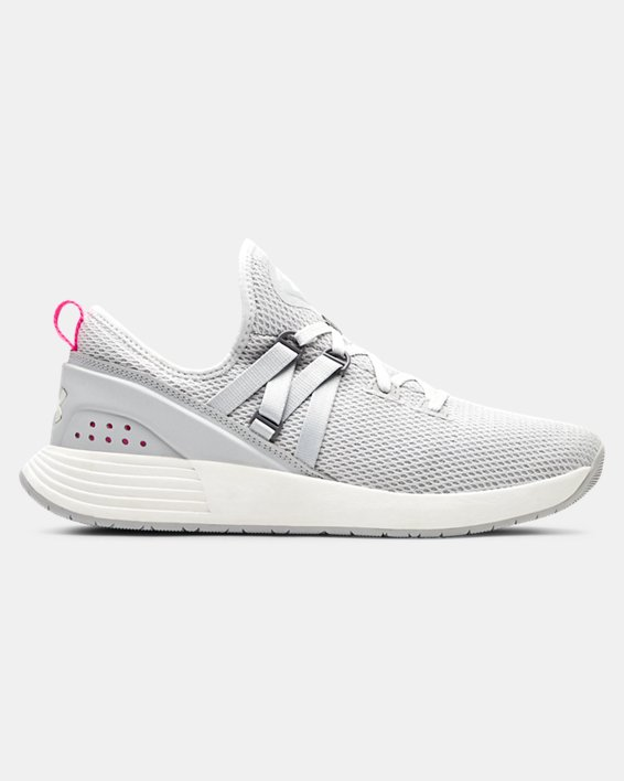 Women's UA Breathe Trainer Training Shoes, Gray, pdpMainDesktop image number 0