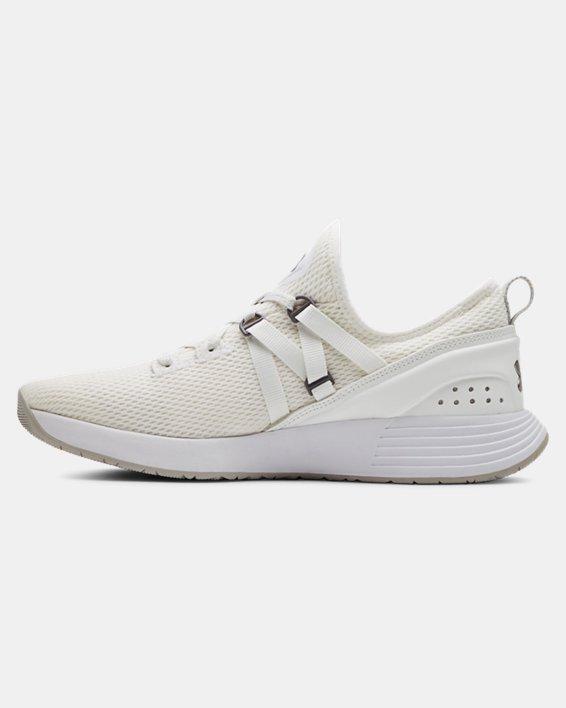 Chaussures d'entraînement UA Breathe Trainer pour femme, White, pdpMainDesktop image number 1