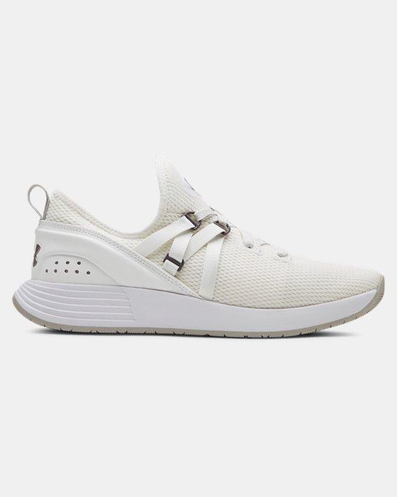 Chaussures d'entraînement UA Breathe Trainer pour femme, White, pdpMainDesktop image number 0