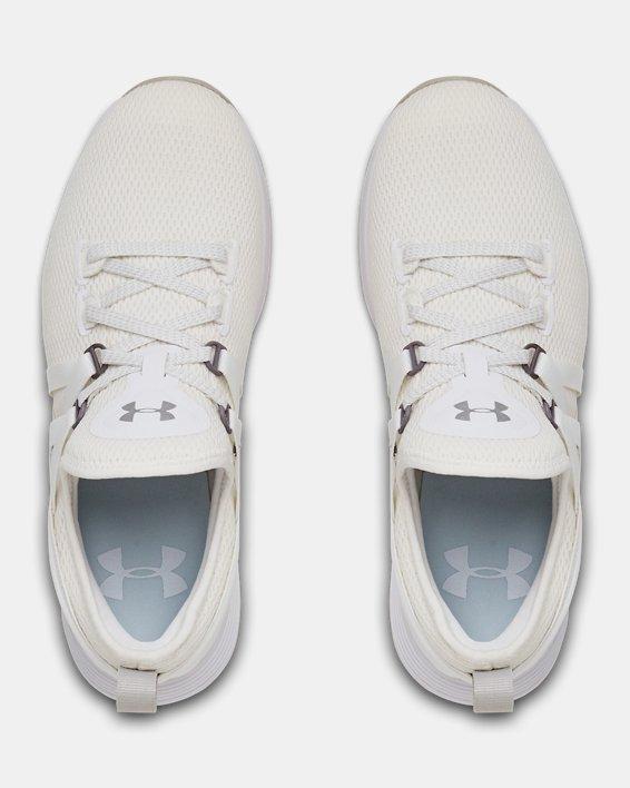 Chaussures d'entraînement UA Breathe Trainer pour femme, White, pdpMainDesktop image number 3