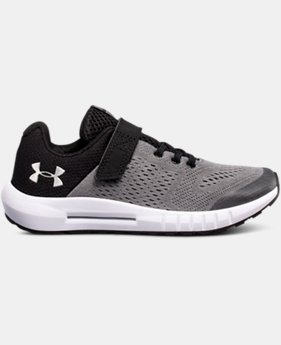 Boys' Pre-School UA Pursuit AC Running Shoes  1  Color Available $65
