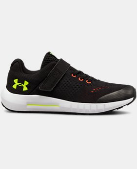 Boys' Pre-School UA Pursuit AC Running Shoes  2  Colors Available $55