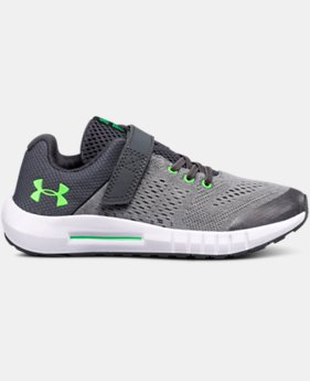 Boys' Pre-School UA Pursuit AC Running Shoes  4  Colors Available $55