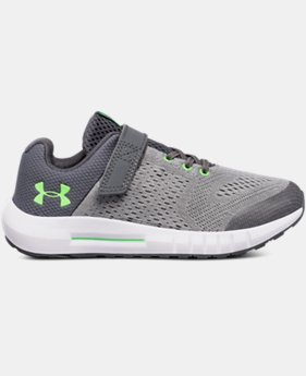 Boys' Pre-School UA Pursuit AC Wide  1  Color Available $45