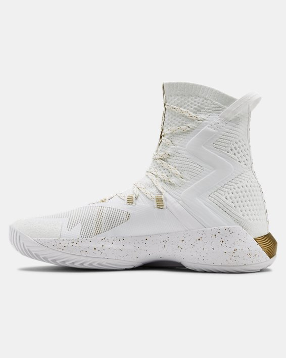 Women's UA Highlight Ace 2.0 Volleyball Shoes, White, pdpMainDesktop image number 1