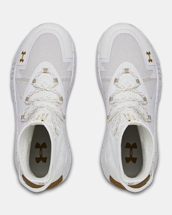 Women's UA Highlight Ace 2.0 Volleyball Shoes, White, pdpMainDesktop image number 3