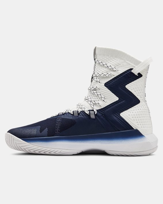 Women's UA Highlight Ace 2.0 Volleyball Shoes, Navy, pdpMainDesktop image number 1