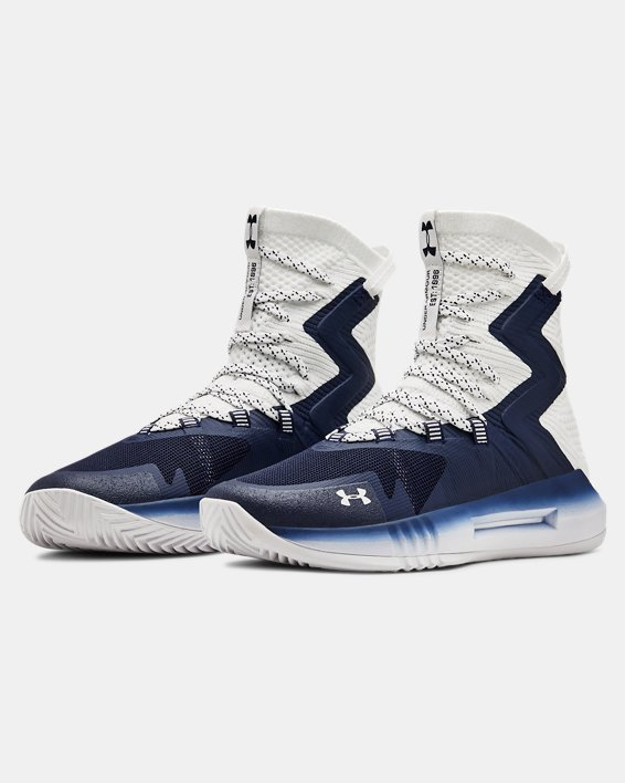 Women's UA Highlight Ace 2.0 Volleyball Shoes, Navy, pdpMainDesktop image number 4