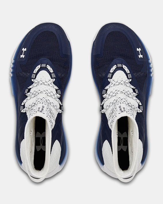 Women's UA Highlight Ace 2.0 Volleyball Shoes, Navy, pdpMainDesktop image number 3