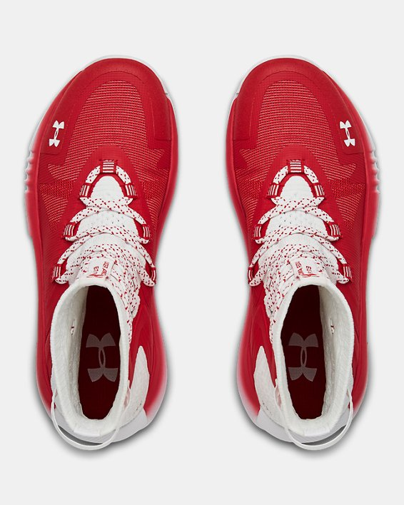 Women's UA Highlight Ace 2.0 Volleyball Shoes, Red, pdpMainDesktop image number 3
