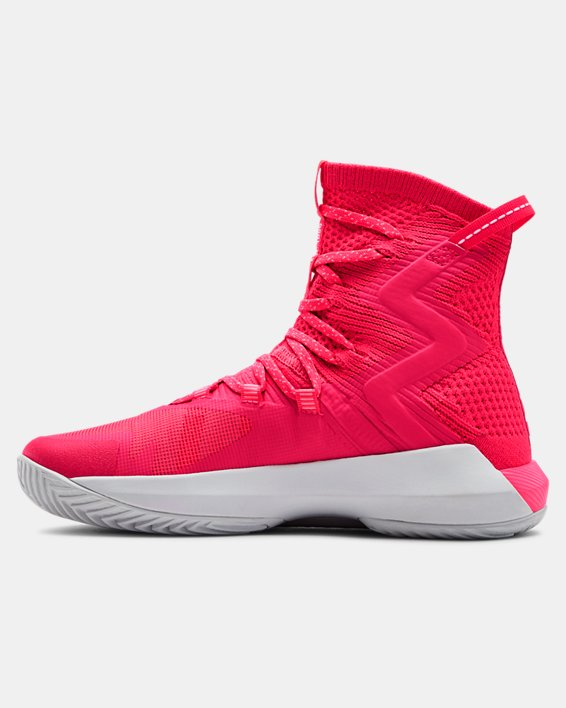 Women's UA Highlight Ace 2.0 Volleyball Shoes, Red, pdpMainDesktop image number 1