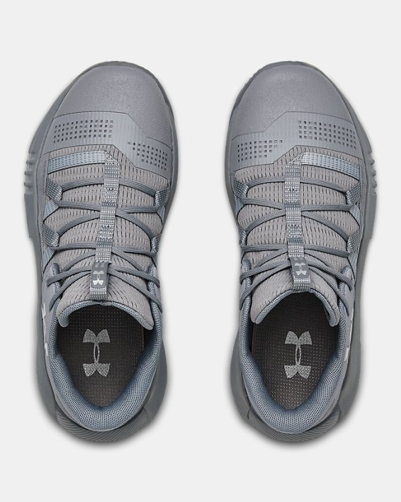 Women's UA Block City 2.0 Volleyball Shoes, Gray, pdpMainDesktop image number 3