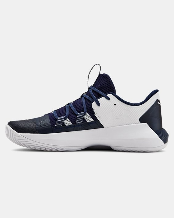 Women's UA Block City 2.0 Volleyball Shoes, Navy, pdpMainDesktop image number 1