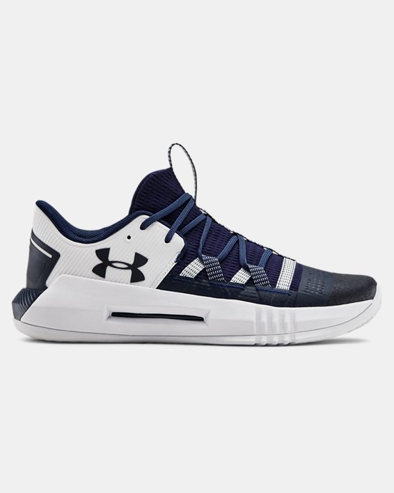 Women's UA Block City 2.0 Volleyball Shoes, Navy, pdpMainDesktop image number 0