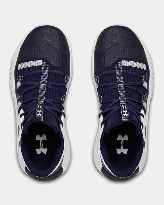 Women's UA Block City 2.0 Volleyball Shoes, Navy, pdpMainDesktop image number 3