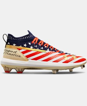 New Arrival Men's UA Harper 3 Low ST LE Baseball Cleats  2  Colors Available $120