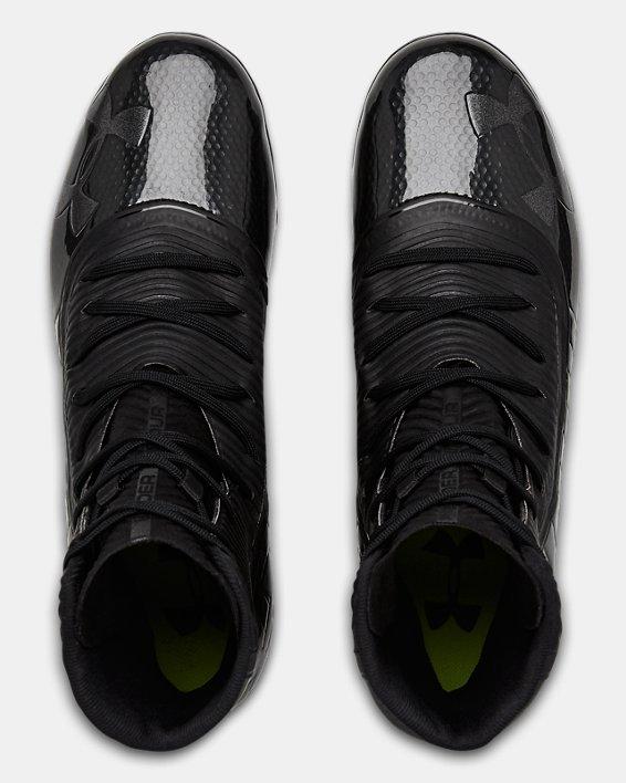 Men's UA Highlight MC Football Cleats, Black, pdpMainDesktop image number 3